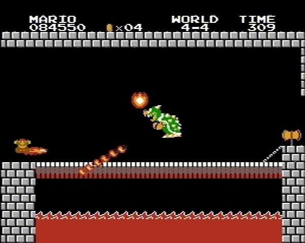 スーパーマリオ スーマリ クッパ ファミコン NES 4-4