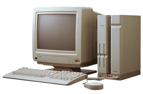 Sharp X68000 マンハッタンシェイプ